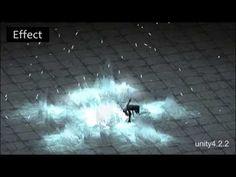 Game effect portfolio and animation - YouTube