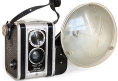 Kodak duaflex, the old flash looks amazing.