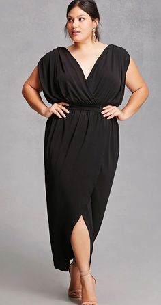 Plus Size Tulip Maxi Dress