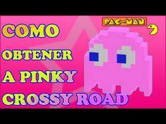 Como desbloquear a Pinky en Crossy Road PacMan - http://trucosparacrossyroad.com/como-desbloquear-a-pinky-en-crossy-road-pacman/