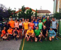 A 17 semanas del maratón de Santiago el grupo entrena con todo el power!!! Felicitamos a nuestras socias Carmen Gloria Ponce y Verónica Arriagada quienes están en el primer lugar del ranking de Triatlón de TriChile.