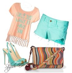 """""""Colorful Summer Outfit !"""" by stylisheve on Polyvore"""