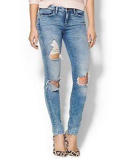 Blank Denim Skinny Jean. Like the shoe combo too.