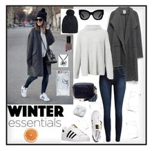 """"""""""" by noypint ❤ liked on Polyvore featuring The Third Piece, Zara, adidas, Foley + Corinna, Karen Walker, Bobbi Brown Cosmetics, The Row, Bling Jewelry, PhunkeeTree and Zero Gravity"""