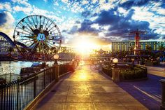 California Adventure- have never been there. I must go!!