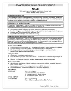 List Of Resume Skills Adorable Job Resume Communication Skills  Httpwww.resumecareerjob .