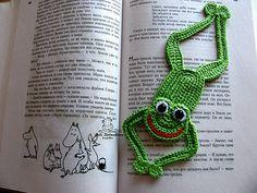 Ravelry: BearGaMak's Frog Bookmark