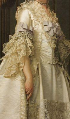 Portrait detail, Dowager Queen Juliane of Denmark.