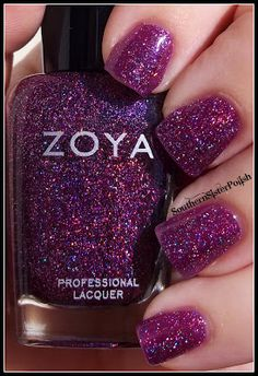 Southern Sister Polish: Zoya Ornate... This one is really pretty up close. Looks like hologram polish. And it's called Aurora!  Sleeping Beauty polish and Peter Pan polish if i get the pixie dust lol.  I'm a sucker for names.