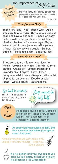 12 steps for self-care Mental health, Soul searching and Recovery - self care assessment