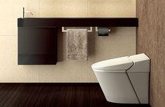ミニマリズムを追求した カウンタータイプの手洗台