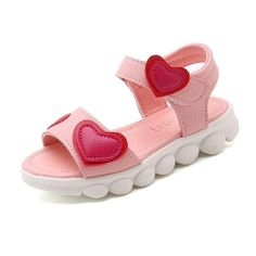 12541eb58f504 KKABBYII Sandals Girls White Children Summer Shoes Kids Sandals For Girls  PU Leather Flowers Princess Shoes