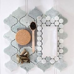 M I N G  G R E E N  Arabesque Marble Mosaics styled by @scottandnadia for @designschool_  #byzantinedesign #256highstprahran #marble #minggreenmarble #greenmarble #tumbledmarble #pink #pinkmarble #pinktiles #luxe #luxury #marblefans #encaustics #interiors #interiordesign #interiorstyling #interdesignmelbourne #architecture #architecturemelbourne #trendingnow #trending #tile #tiles #tiletrends #flatlay #trulybreathtakingtiles #themostbeautifultilestoreinmelbourne…