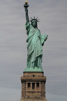 Lady Liberty in Ellis Island. Been there