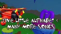 Five Little Alphabets & Many More Songs | Kids Songs | Car Songs | Froze...