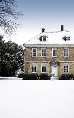 Manor House in winter