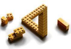 ©Photo Penrose Lego by Erik Johansson. The name LEGO originates from Leg Godt.
