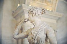 "emmahyphenjane: ""  332. Diana of Versailles (Diana the Huntress) - Musée du Louvre, Paris, France """