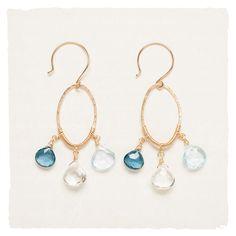 Jewelry - Dreaming in Blue Earrings