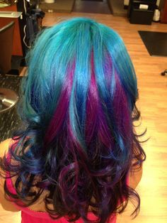 mermaid hair color - Google Search