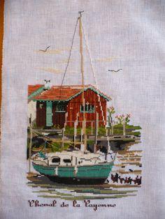 Gallery.ru / Chenal de la Cauenne - Au port de la Cotiniere - Rikmylia