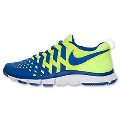 The Men\u0026#39;s Nike Free Fingertrap Trainer Training Shoes - 579809 700 - Shop Finish Line today! Volt/White/Hyper Blue \u0026amp; more colors. Reviews, in-store pickup ...