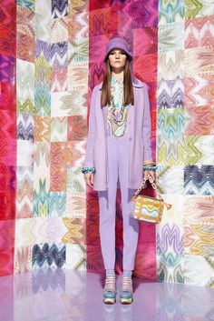 Missoni Resort 2012 Fashion Show - Sara Blomqvist