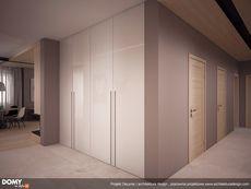 Wnętrze MT Decyma  CE Wardrobes, Tall Cabinet Storage, Minimalism, Kitchen Design, House Plans, Floor Plans, House Design, Flooring, How To Plan
