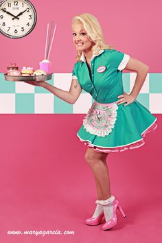 uniform special waitresses growing up in the 1950 39 s pinterest waitress outfit costumes. Black Bedroom Furniture Sets. Home Design Ideas