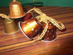 Campanitas con cápsulas de Nespresso