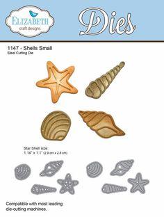 Elizabeth Craft Designs - Die - Shells Small