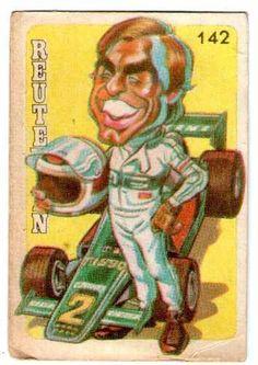 1979 Carlos Reutemann - Figuritas Superfutbol #142