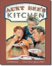 Vintage Style Tin Sign - Aunt Bee's Kitchenfree ~shipping~