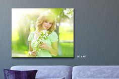 Personalised Monster Photo Canvas
