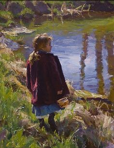 Spring at the Pond by Mike Malm