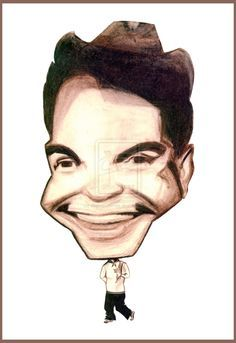 """Mario Moreno Cantinflas caricature by <a href=""""http://diegoabelenda."""