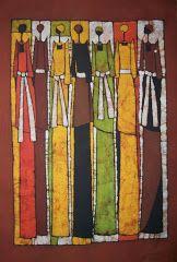 BATIK ART BY LUKANDWA DOMINIC