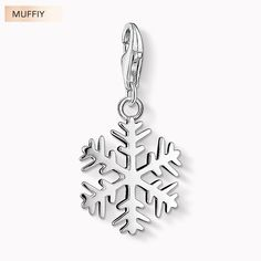 fed375fe7 Snowflake Charm,TS Style Muffiy Club Good Jewelry For Women,2017 Ts Winter  Gift