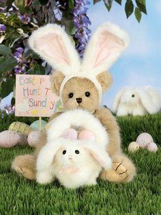 dc301afa48c Bearington Beary Bunny Ears Easter Bear for sale