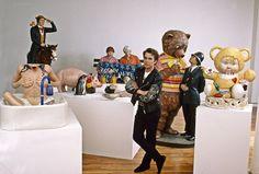 Une rétrospective de cinq mois s'ouvre ce mercredi au centre Pompidou, ses sculptures-ballons seront bientôt exposées au Louvre... : Jeff Koons, l'éternel provocateur, aurait-il rejoint l'establishment artistique?