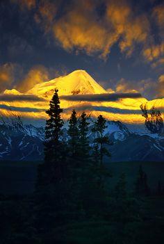 Alaska Alpenglow - USA