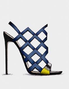 ● Malicka - Guillaume Bergen Spring /Summer '15 - Collection #guillaumebergen#Stiletto ♦F&I♦