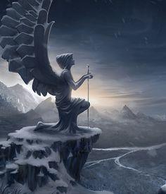 Absolutely Stunning Fantasy Influenced Mixed Media #3   nenuno creative