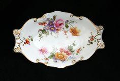 Royal Crown Derby 'Posies' Trinket Dish. 1930s-1950s