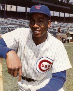 """Let's play two!""  Mr. Cub, Ernie Banks"