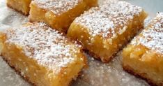 In the event that one contemplates a single malt whisky mixture, fortune may be takes into consideration a glass of wine made out of rye or bourbon. Greek Desserts, Bite Size Desserts, Greek Recipes, Just Desserts, Dessert Recipes, Greek Cake, Meyer Lemon Recipes, Easy Sweets, Lemon Bars