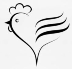 I call my son chicken and this would be perfect! Pretty Tattoos, Love Tattoos, New Tattoos, Tribal Tattoos, Tatoos, Chicken Images, Chicken Pictures, Huhn Tattoo, Rooster Tattoo