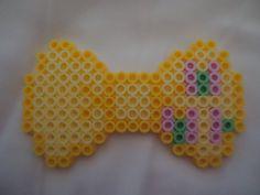 MLP Fluttershy Bow perler beads by PerlerHime on deviantART