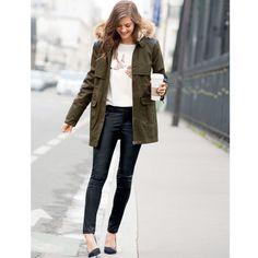 La parka parfaite ! #mode #manteau #parka #SoftGrey > http://www.laredoute.fr/vente-parka-a-capuche-et-col-montant-pur-coton-doublee-fausse-fourrure.aspx?productid=324412930