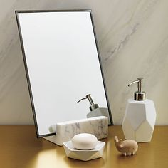 gaze vanity mirror | CB2